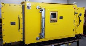 Рудничные взрывозащищенные компактные станции и преобразователи частоты